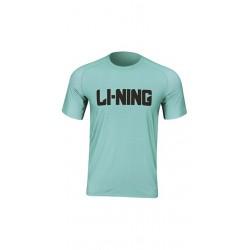 Športové tričko Li-Ning Running unisex bledomodré