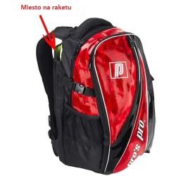 Bedmintonový ruksak Pros Pro červený metalický
