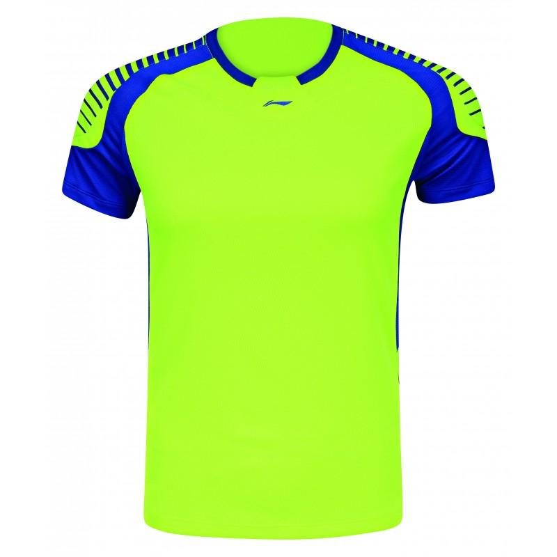 a63e1dfcc5e1 Bedmintonové tričko Li-Ning Conty pánske žlté