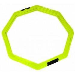 Koordinačný osemuholník sada 6 ks žltá