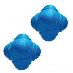 Reakčná loptička mäkká -  modrá farba